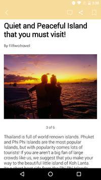 Fit2Travel App apk screenshot