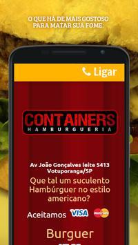 Containers Hamburgueria poster