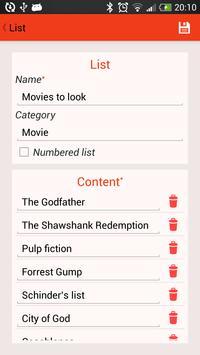 Lister - Classify and list screenshot 3