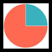 Simple graph maker icon