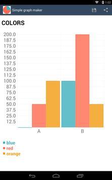 Simple graph maker apk screenshot