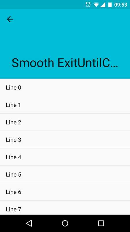 Smooth AppBarLayout for Android - APK Download