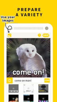 Boodl - emoji, photo-sticker apk screenshot