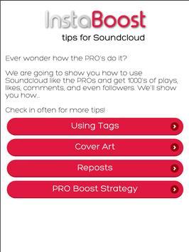 Tips for SoundCloud Plays apk screenshot