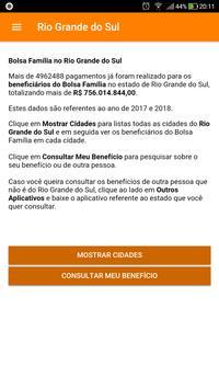 Bolsa Família Rio Grande do Sul screenshot 18
