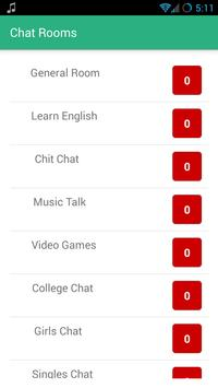 Free Chat Rooms - 1Chat apk screenshot