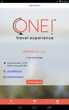 ONE! Travel Experience apk screenshot