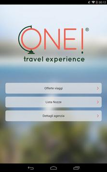 ONE! Travel Experience poster