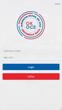 Jaringan Mitra OK OCE poster