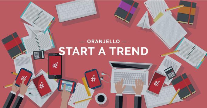 Oranjello | Start A Trend ( Beta ) apk screenshot