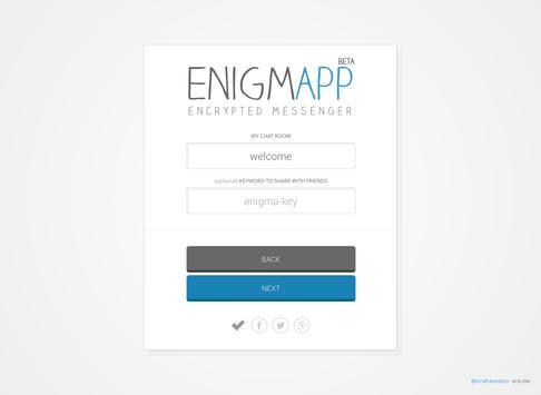 Enigmapp apk screenshot