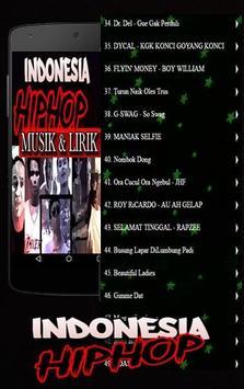 Lagu Hip Hop Indonesia Rap poster