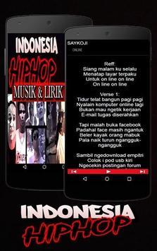 Lagu Hip Hop Indonesia Rap screenshot 1