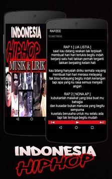 Lagu Hip Hop Indonesia Rap screenshot 3