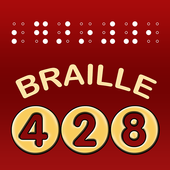 428 Braille icon