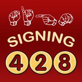 428 Signing icon