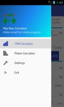 Rep Max Caculator screenshot 3