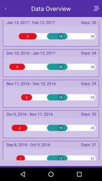 Magic Girl Teen Period Tracker apk screenshot