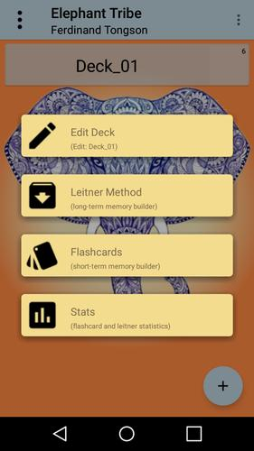 elephant tribe flashcard builder for android apk download