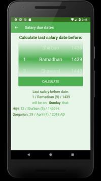 Salary-Due dates screenshot 4