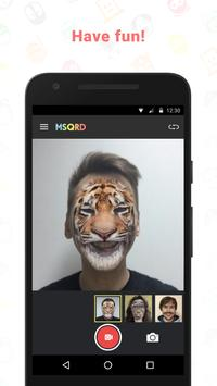 MSQRD apk screenshot