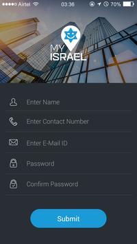 My Israel App poster