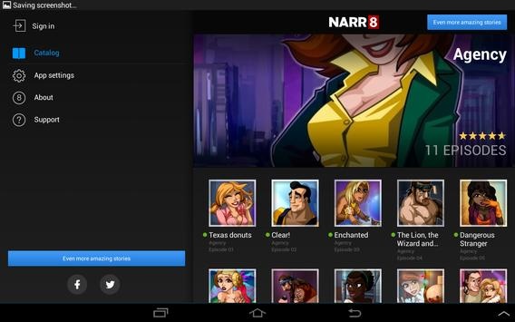 Agency — Motion Comic apk screenshot
