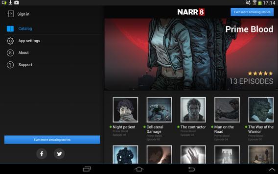 Prime Blood - Motion Comic apk screenshot