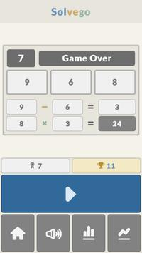 Solvego - Math Game apk screenshot