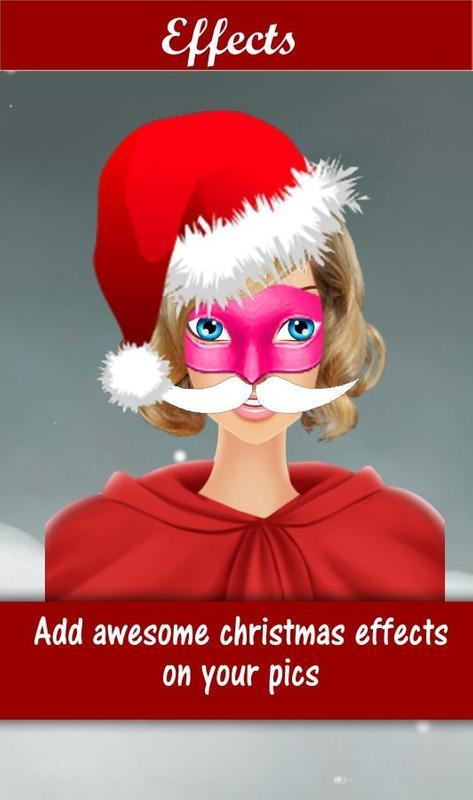 santa face changer poster