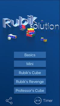Rubik's Solution poster