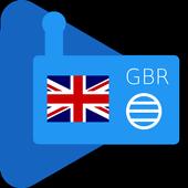 Internet Radio United Kingdom icon