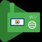 Internet Radio West Virginia icon