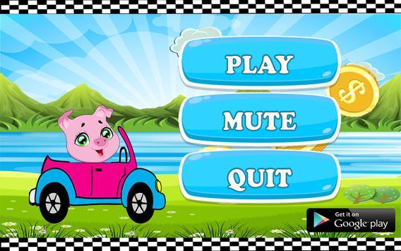 Pepa pige the adventure pig racing 🐖 screenshot 2