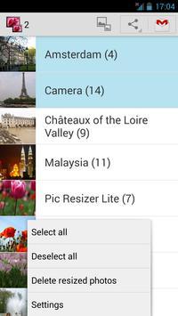 Pic Resizer Lite apk screenshot