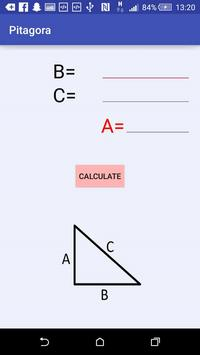 Pythagoras' Theorem apk screenshot