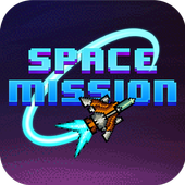 Space Mission 8-bit icon