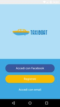 Taxiboat poster