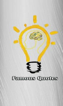 Famous Quotes 2018 poster