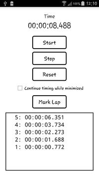 Simple Timer screenshot 1