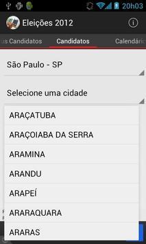 Eleições 2012 screenshot 1