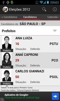 Eleições 2012 screenshot 3