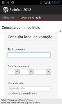 Eleições 2012 screenshot 7