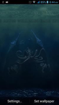 Fantasy Cthulhu Live Wallpaper apk screenshot