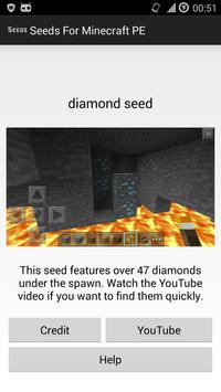 Seeds for Minecraft PE screenshot 1