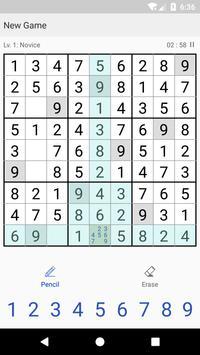 SudoCool - a Sudoku game apk screenshot