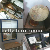 belle hair room icon