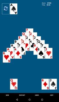 Pyramid 13 - Pyramid Solitaire apk screenshot