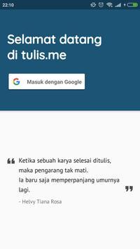 Tulis.me screenshot 1