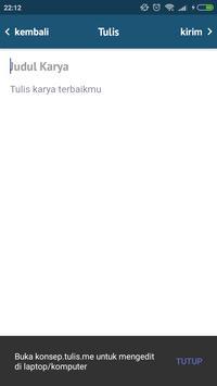 Tulis.me screenshot 4